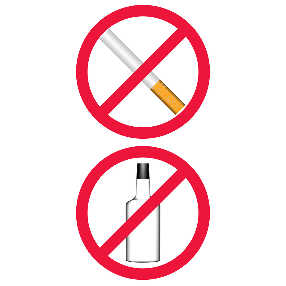 drinking and smoking should be banned