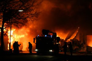 An Early Morning Fire Destroyed 6 Trucks