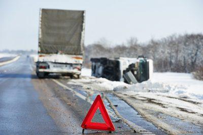 dot truck crashes