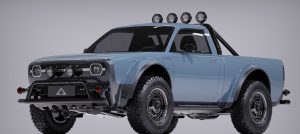 Alpha Motors offers a Retro-Styled Wolf Electric Pickup
