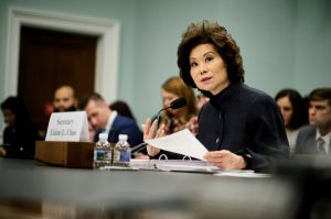 Elaine Chao, Former FMCSA Boss, Under Fire For Using DOT Resources